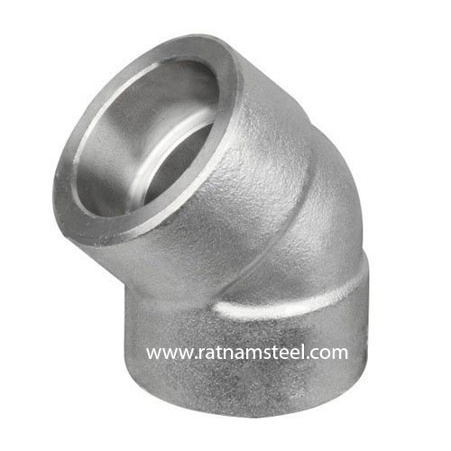 ASTM B564 Nickel 200 45 Elbow CL3000‎‎‎‎‎‎‎‎ manufacturer in India