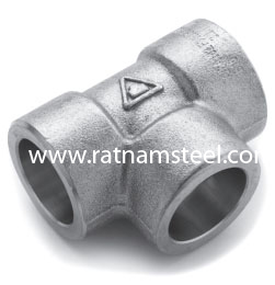ASTM B564 Nickel 200 Equal Tee CL3000‎‎ manufacturer in India