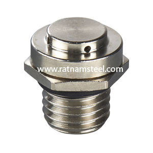 ASTM B564 Nickel 200 Hexagon Head Flanged Plug manufacturer in India