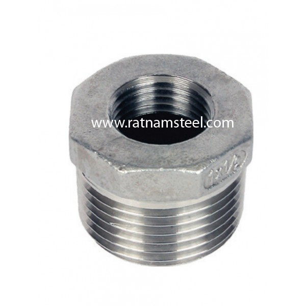 ASTM B564 Nickel 200 Forged Hex Bushing manufacturer in India
