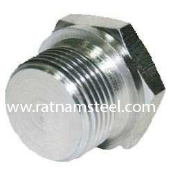 ASTM B564 Nickel 200 Forged Hex Head Plug manufacturer in India‎