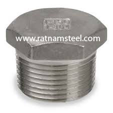 ASTM B564 Nickel 200 Forged Hex Head Plug manufacturer in India