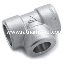 ASTM B564 Nickel 200 Reducing Tee manufacturer in India