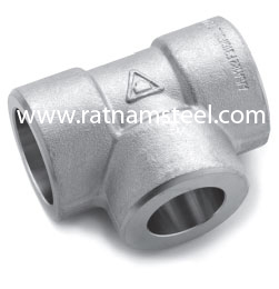 ASTM B564 Nickel 200 Reducing Tee CL3000‎‎‎‎‎‎‎‎ manufacturer in India
