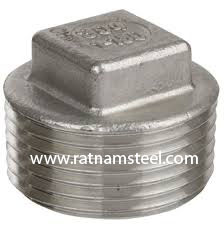 ASTM B564 Nickel 200 Forged Square Head Plug‎ manufacturer in India