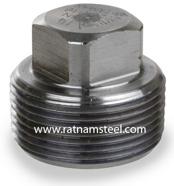 ASTM B564 Nickel 200 Forged Square Head Plug manufacturer in India
