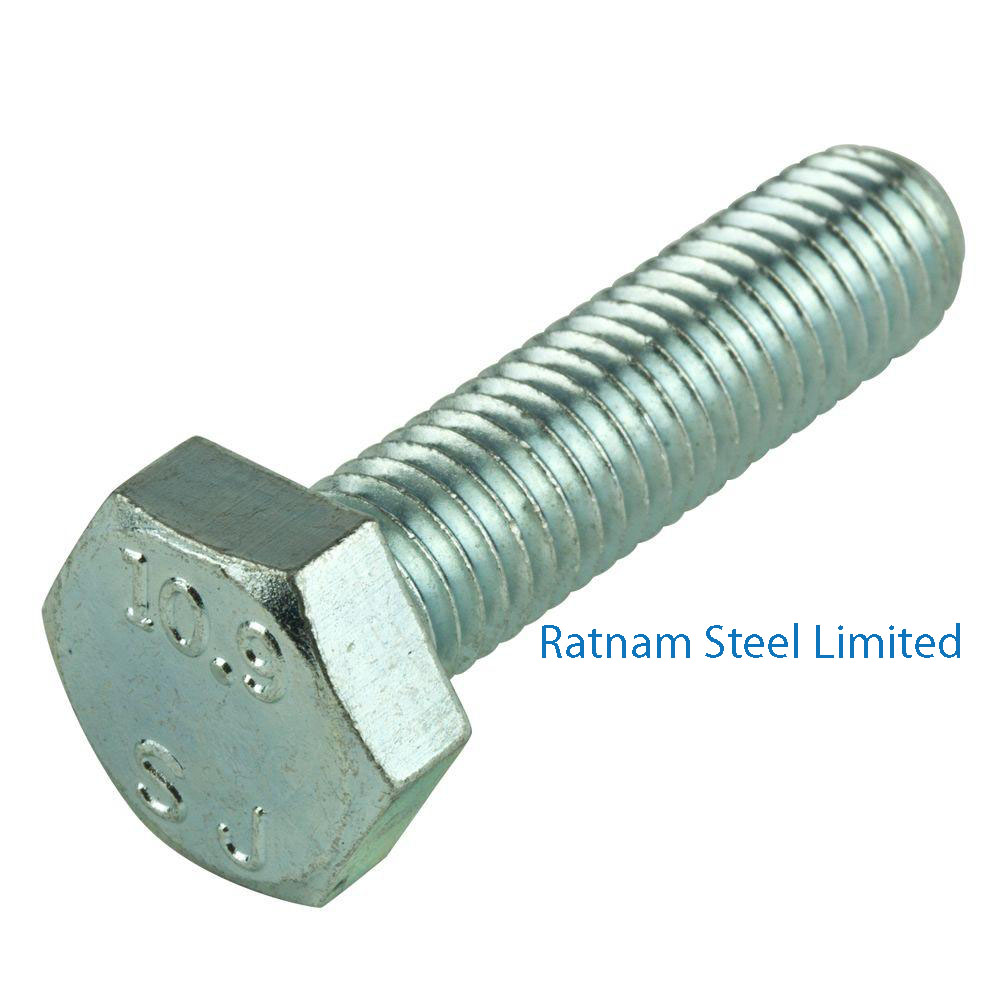 Stainless Steel 201/202 Cap Screws & Hex Bolts manufacturer in India