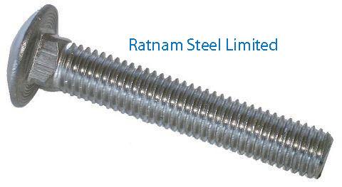 Stainless Steel 201/202 Carriage Bolts manufacturer in India