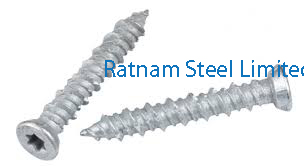 Stainless Steel 201/202 Concrete Screw manufacturer in India
