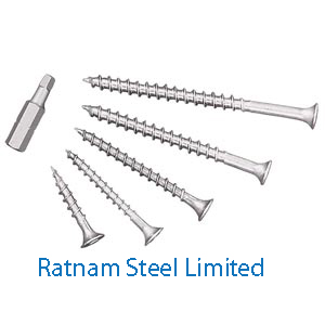 Stainless Steel 201/202 Construction screws manufacturer in India