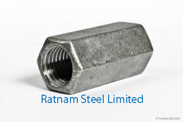 Stainless Steel 201/202 Coupling Nuts manufacturer in India