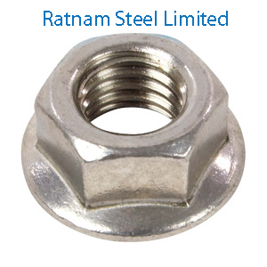 Stainless Steel 201/202 Flange Nuts manufacturer in India