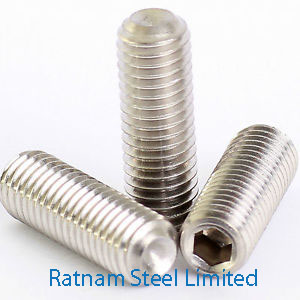 Stainless Steel 201/202 Grub Screw manufacturer in India