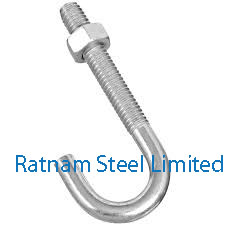 Stainless Steel 201/202 J-Bolts manufacturer in India