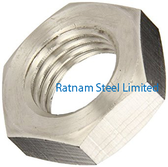 Stainless Steel 201/202 Jam Nuts manufacturer in India