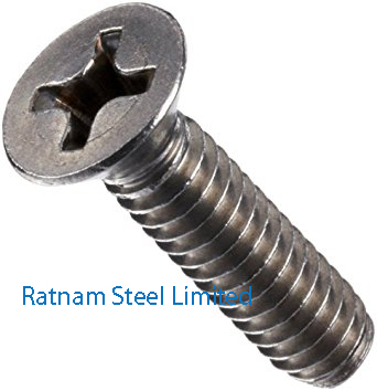 Stainless Steel 201/202 Machine Screw manufacturer in India