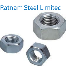 Stainless Steel 201/202 Metric nuts manufacturer in India