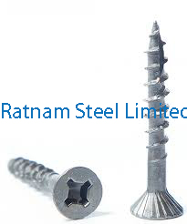 Stainless Steel 201/202 Particle Board Screw manufacturer in India