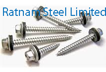 Stainless Steel 201/202 Roofing Screw manufacturer in India