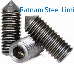 Stainless Steel 201/202 Set screws manufacturer in India