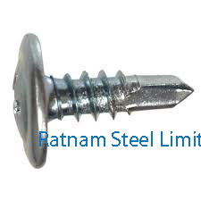 Super Duplex Steel 2507 Sheet metal screws manufacturer in India