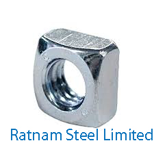 Stainless Steel 201/202 Square Nuts manufacturer in India