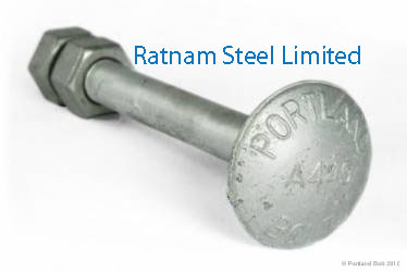 Super Duplex Steel 2507 Step Bolts manufacturer in India