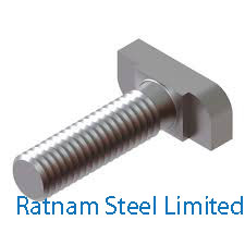 Stainless Steel 201/202 T Head Bolts manufacturer in India