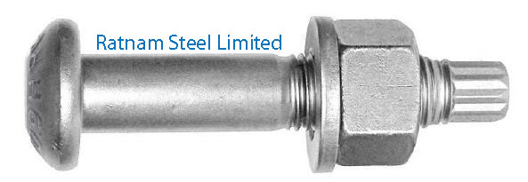 Super Duplex Steel 2507 Tension Control Bolts manufacturer in India
