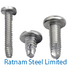 Stainless Steel 201/202 Thread Cutting Screw manufacturer in India