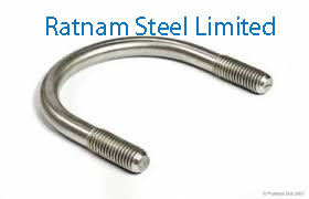 Stainless Steel 201/202 U-Bolts manufacturer in India