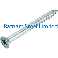 Stainless Steel 201/202 Wood Screw manufacturer in India
